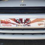 Cache-plaque personnalisable pour garage automobile à Paris