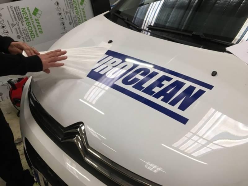 covering véhicules et flocage pour flotte de véhicules commerciaux voitures de fonction à paris